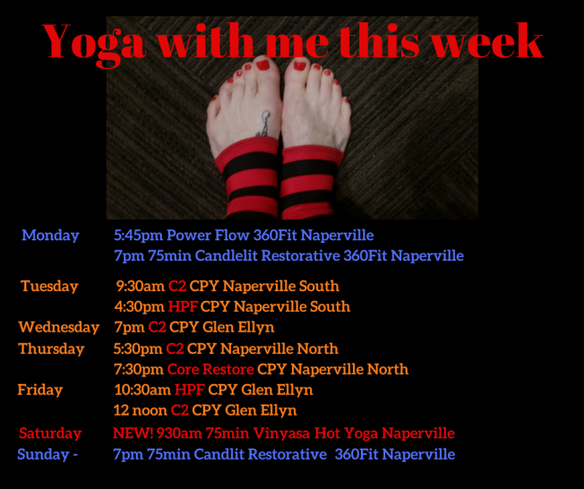 Yoga with me this week (3)